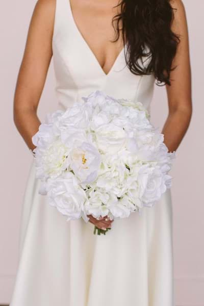 Picture of Audrey Bridal Bouquet (Round)