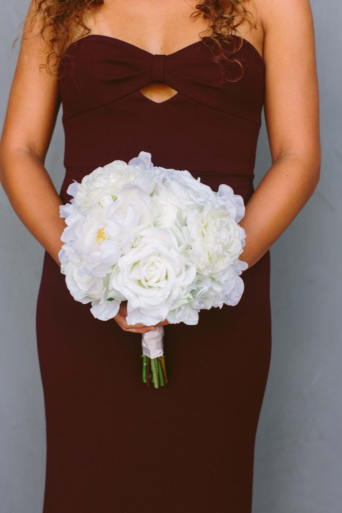 Picture of Audrey Bridesmaid Bouquet (Round)