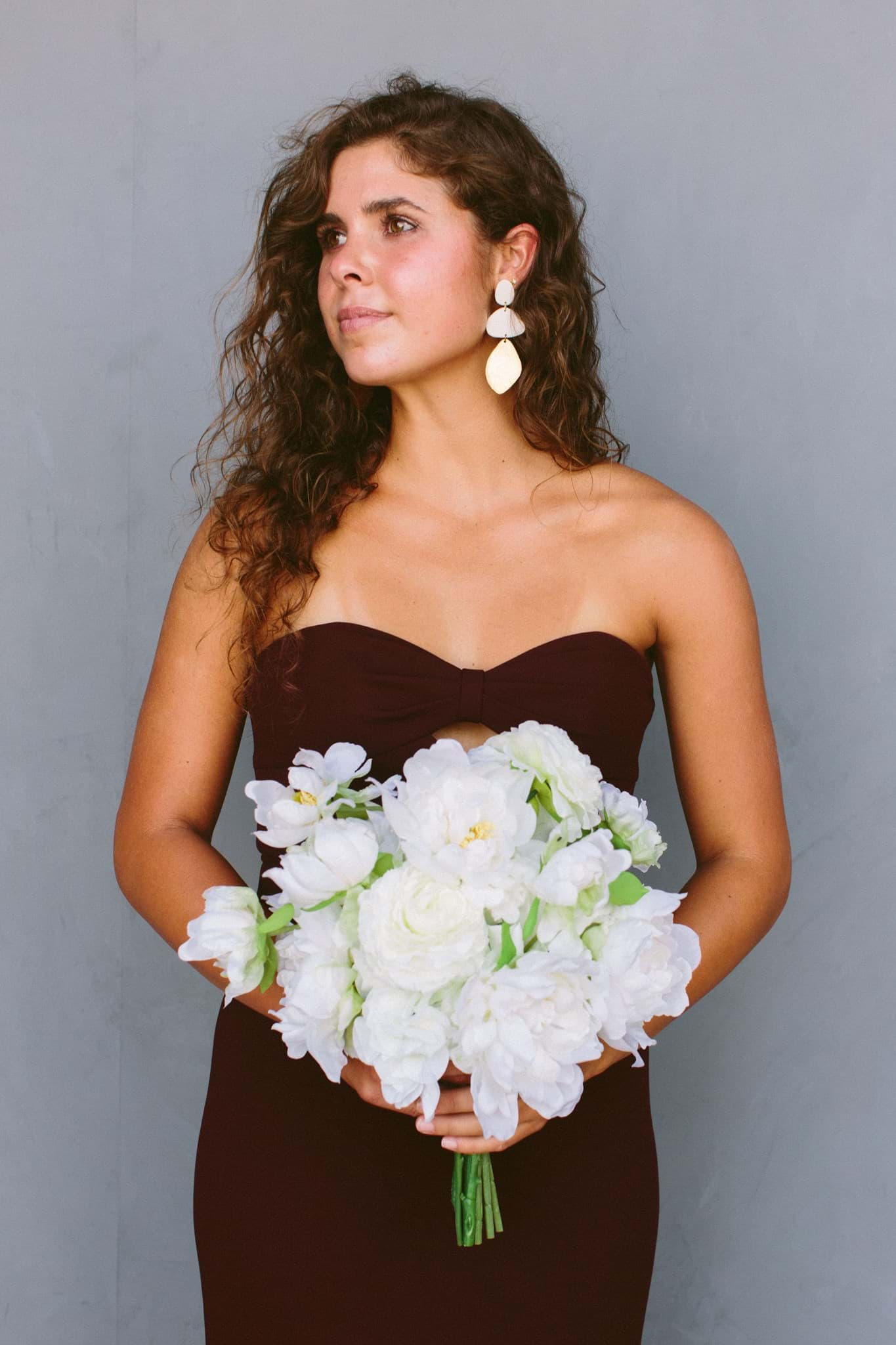 Picture of Audrey Bridesmaid Bouquet (Hand-tied)