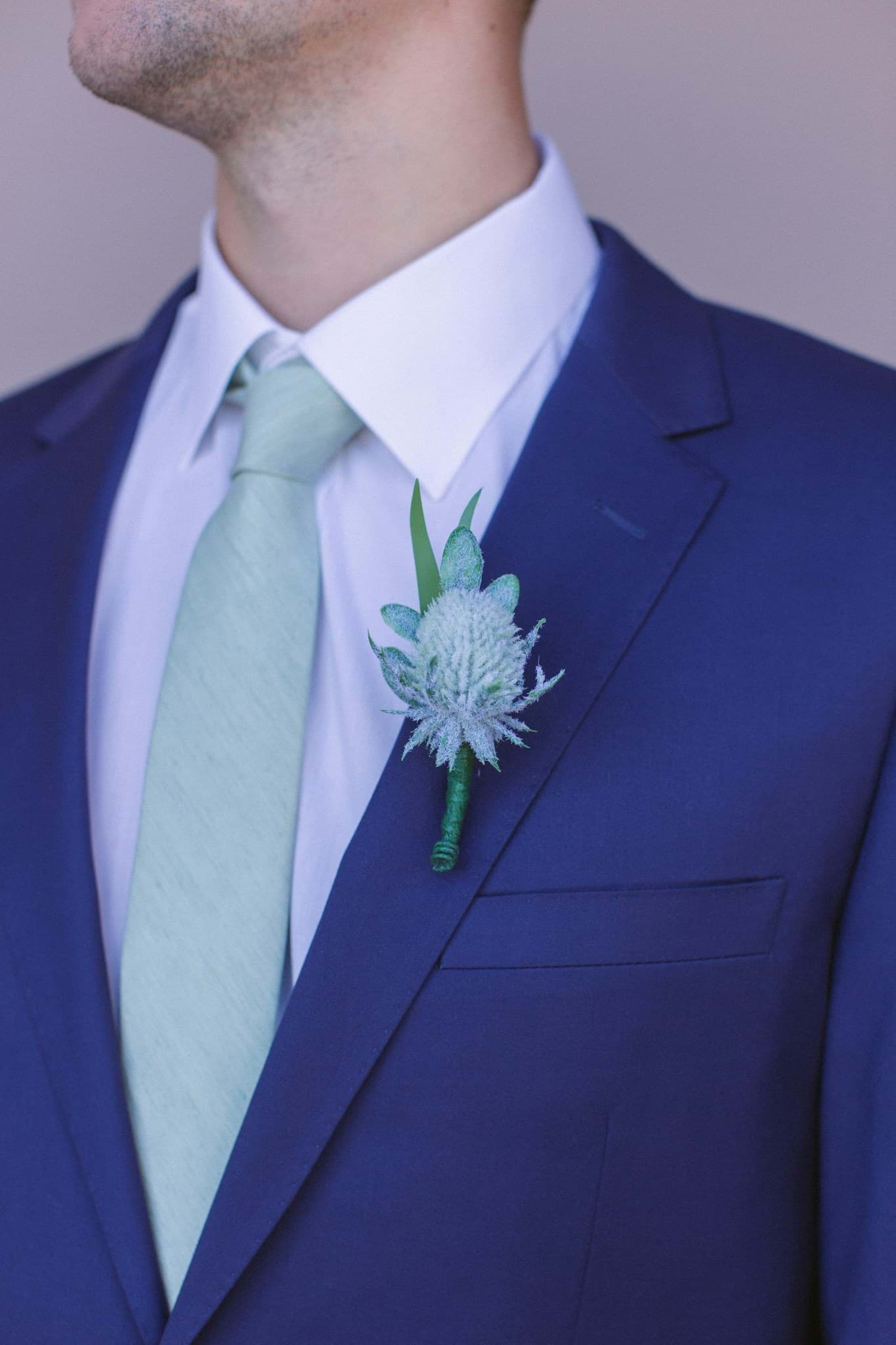 Picture of Jane Boutonniere (Thistle)