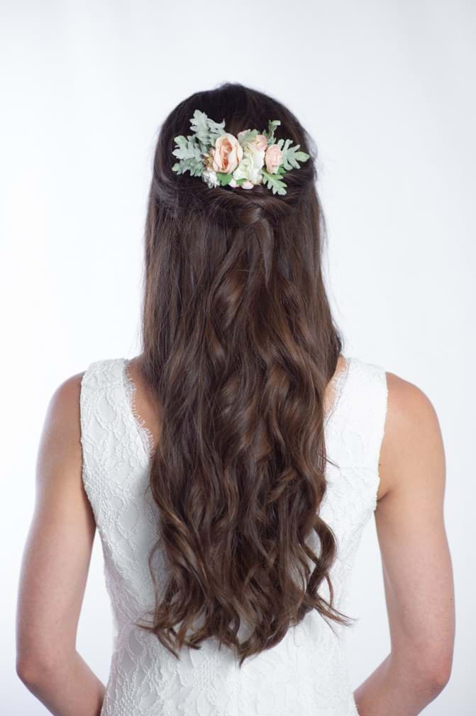 Picture of Sophia Floral Comb